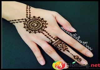 henna cantik dan simple