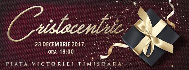 Concert de colinde cu Cristocentric in Piața Victoriei din Timisoara - 23 dec 2017