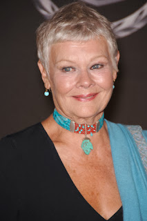 The actor Judi Dench