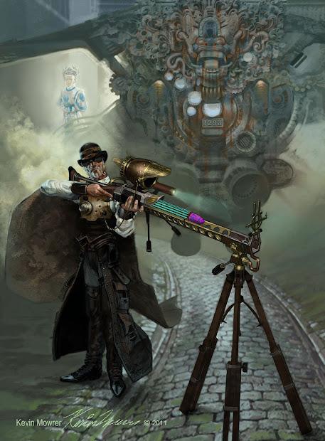 Mowrer Art Steampunk Frankenstein And August 2011