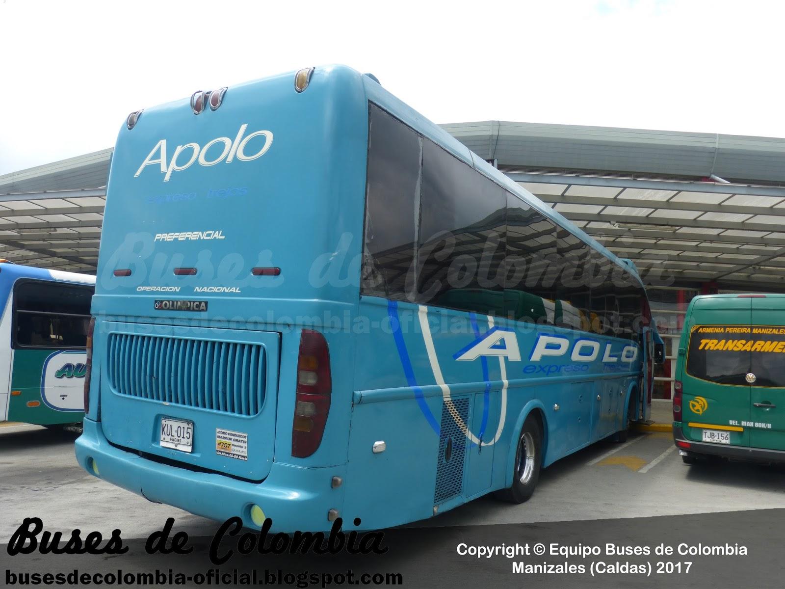 Expreso Trejos 20060 | Buses de Colombia - Oficial