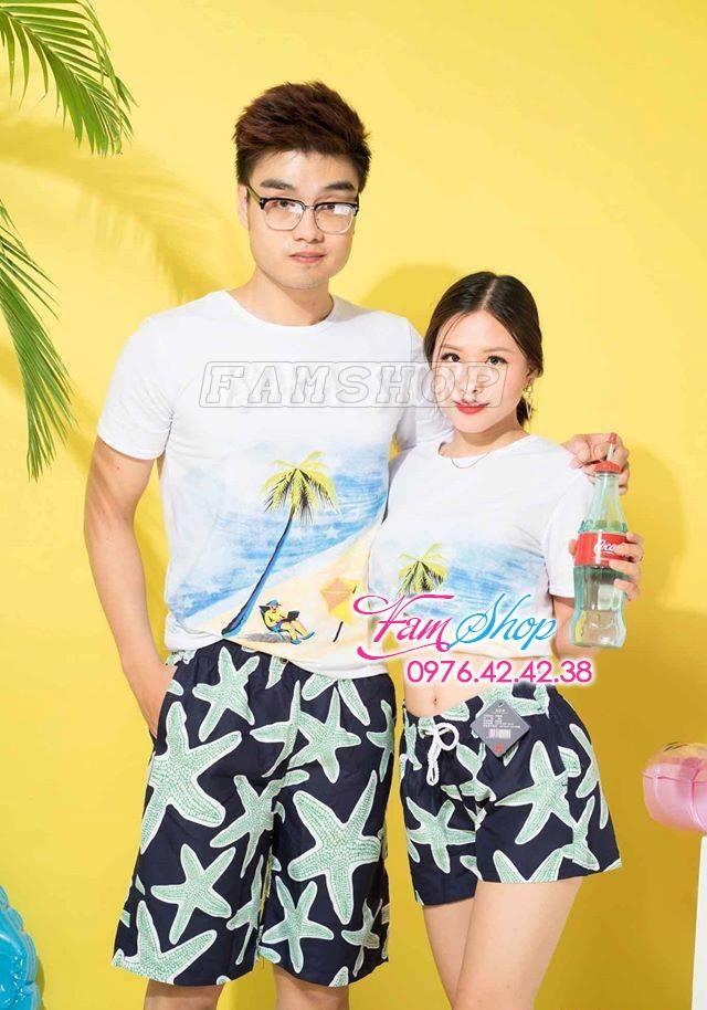 Cua hang do di bien o Dan Phuong