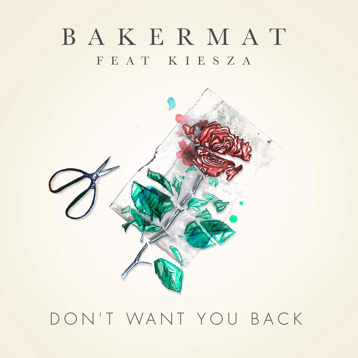 Bakermat - Don't Want You Back (feat. Kiesza) - Single Cover