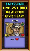 Satyr Jade - Wizard101 Card-Giving Jewel Guide