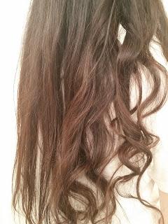 hair selfie