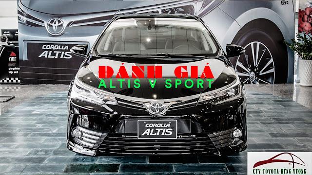 Đánh giá xe Altis V Sport 2018 tại Toyota Hùng Vương ảnh 1