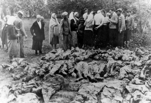 Винницкая трагедия. Останки жертв репрессий.