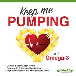 Jantung Sihat dengan Omega-3