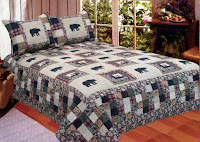 Black Bear Medley Quilt Set