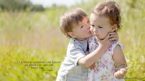Top latest hd Baby Boy to Girl frist kiss images photos pic wallpaper free download 25