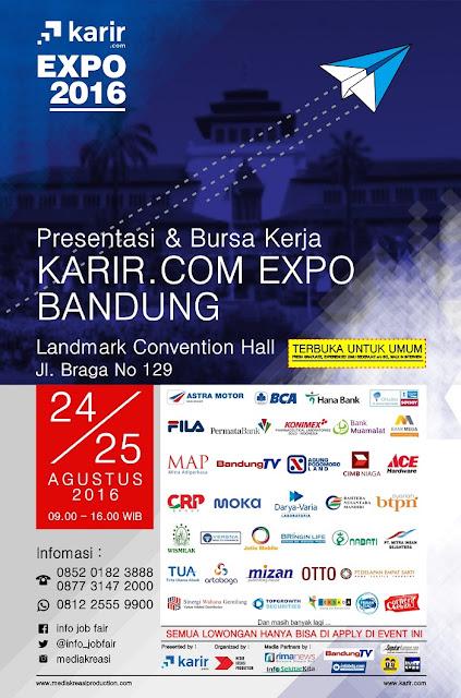 Job fair Bandung - Karir.com Expo Bandung