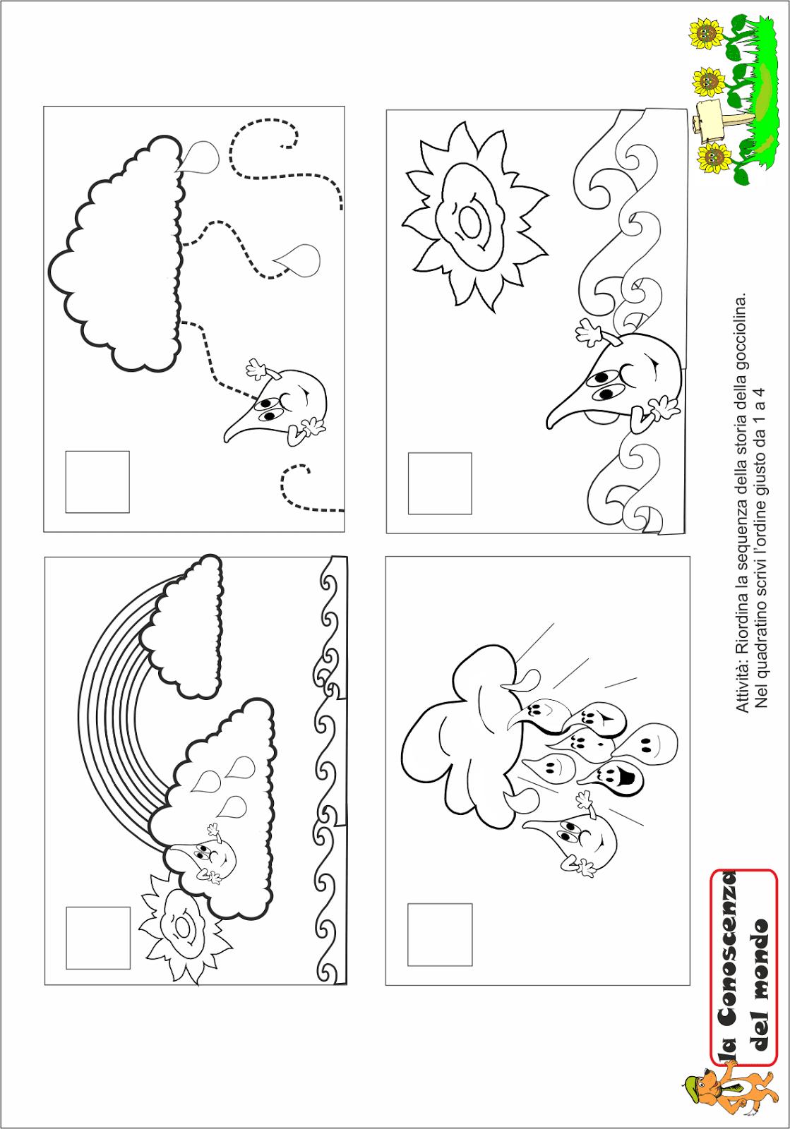 Amato A Scuola con Poldo: LA STORIA DELLA GOCCIOLINA D'ACQUA CD63