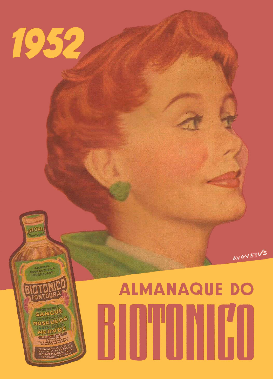 ALMANAQUE DO BIOTÔNICO - 1952