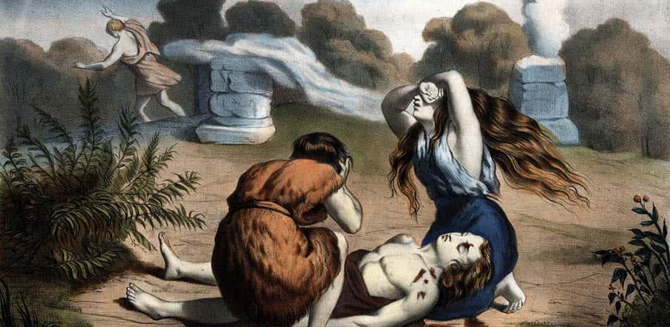 Adem'in oğulları, din, Habil, Habil ile Kabil, İbn-i Haldun, İlk cinayet, MWG, Özel mülkiyet, Özel mülkiyetin doğuşu, Yeryüzünde ilk kavga,