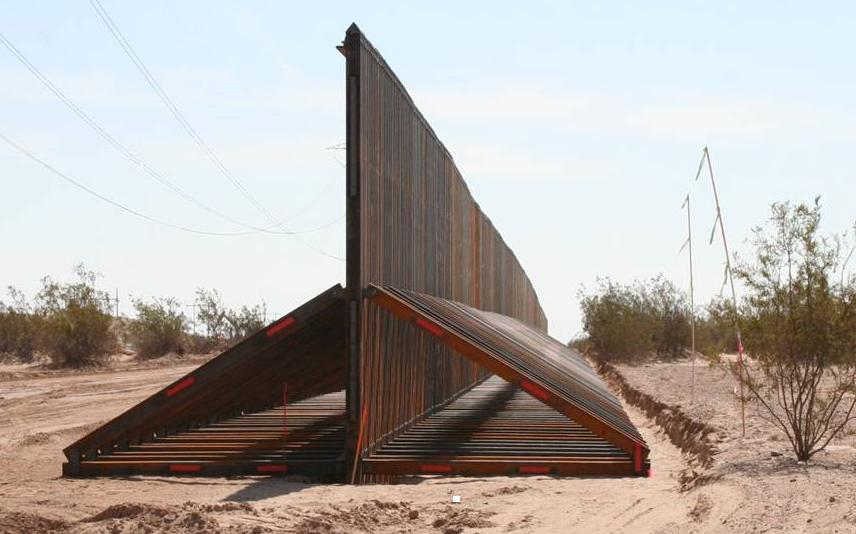 Obama lectures America about border walls — but look at ... |Obamas Border Fence