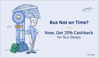 Paytm Bus Delayed Offer