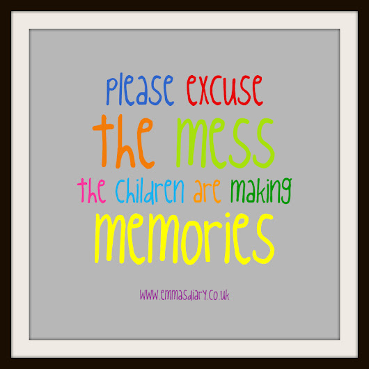 Quote of the Week: Please excuse the mess ...