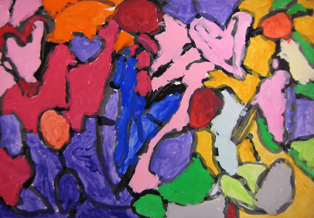 """Experiments In Art Education """"jump Rope Heart"""