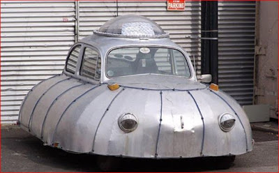 Mobil UFO - Mobil Aneh
