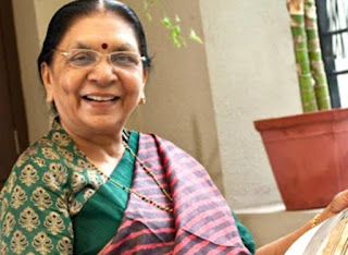 anandiben-patel-appointed-as-governor-of-madhya-pradesh