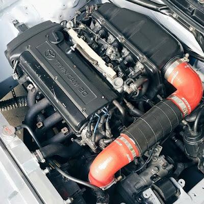 Toyota 1600 4A-GE 20-valve DOHC Black Top