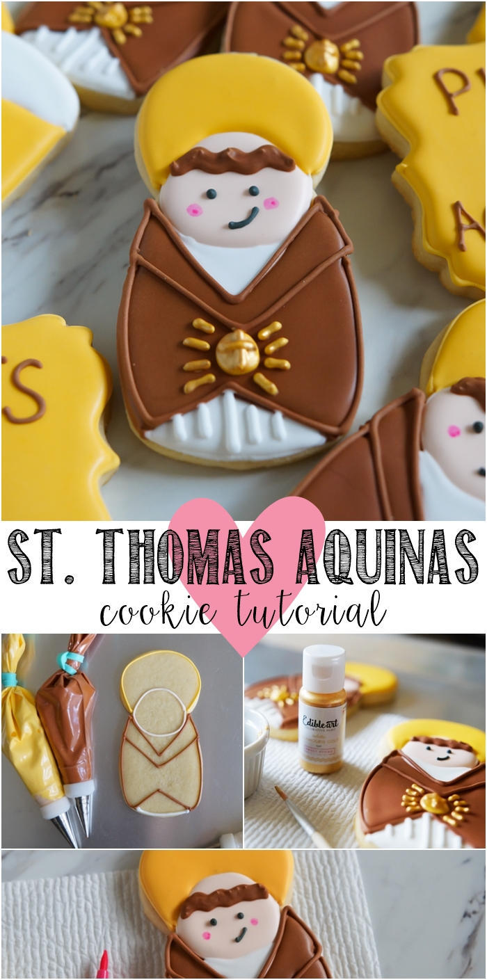 how to make Saint Thomas Aquinas cookies