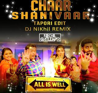 Chaar+Shanivaar+Tapori+Edit+Dj+NIKhil