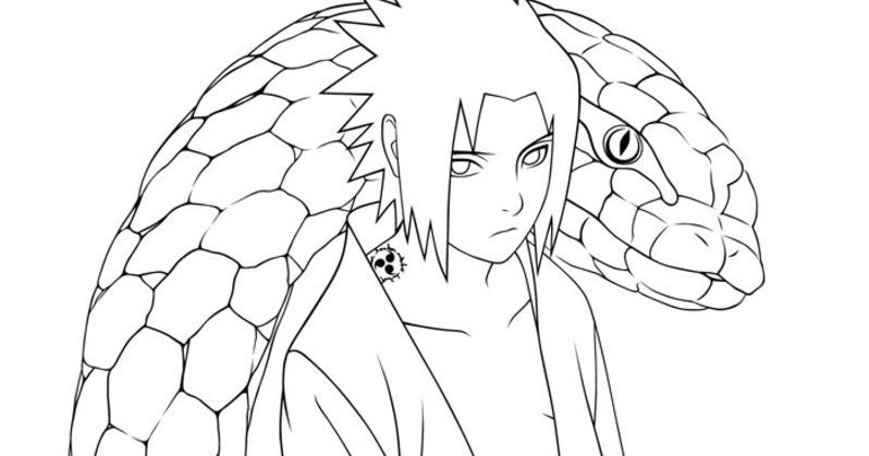 Imagens Do Naruto Shippuden Para Colorir E Imprimir