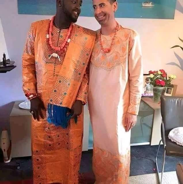 Europe-based man, Momodou Secka becomes the first Gambian gay to openly marry his partner