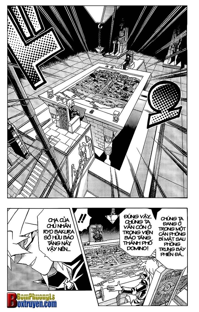 YUGI-OH! chap 320 - trò chơi bóng tối cuối cùng trang 7