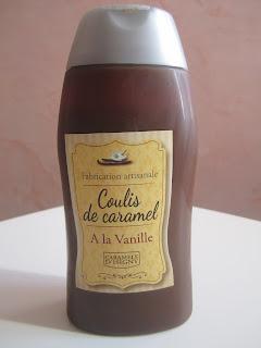 Coulis de caramel à la vanille Caramels d'Isigny