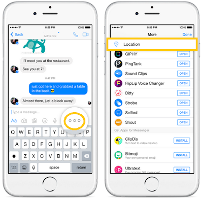 ICT Link-Up-Facebook-Messenger-Live-Location-Sharing