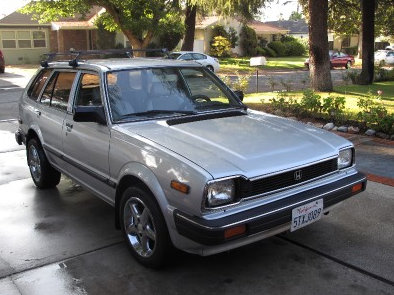 1983 Honda Civic Station Wagon