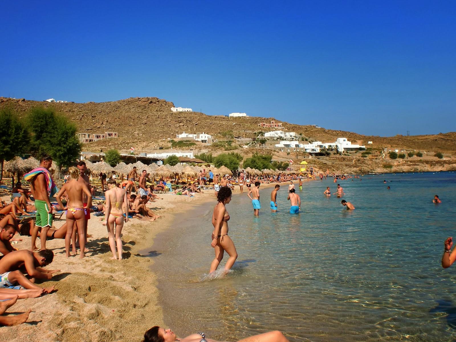 beach mykonos Paradise