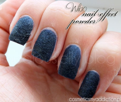 Wibo, Velvet nail effect powder, Wild Thing