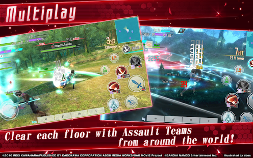 Download Sword Art Online Integral Factor Sword Art Online: Integral Factor v1.0.8 Mod Apk (God Mode + Anti-Ban)