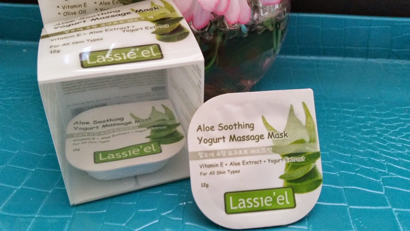 Lassie'el Aloe Soothing Yogurt Massage Mask