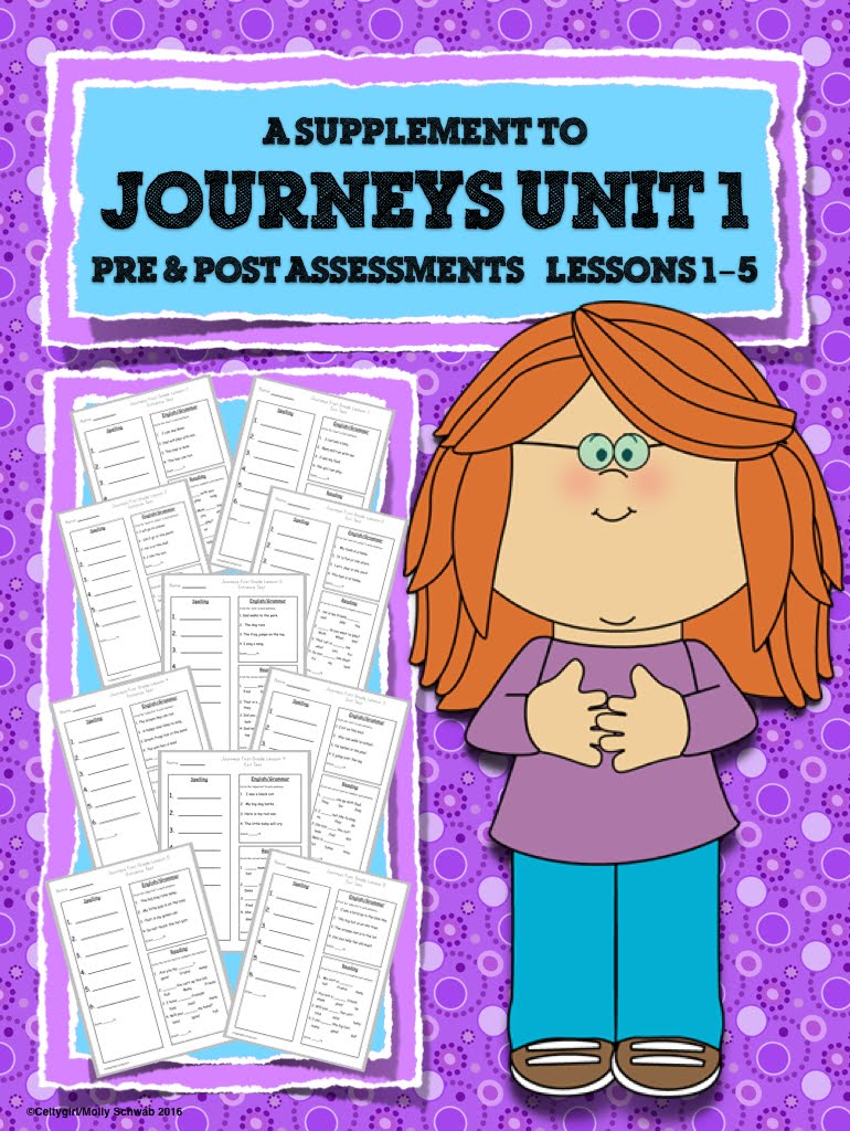 Journeys Pre & Post Assessments Unit 1