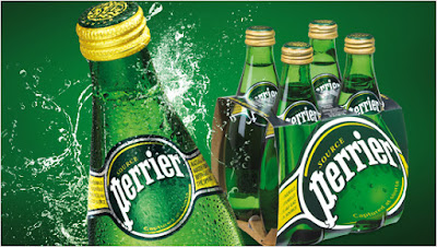 Agua con gas Perrier proyecto TRND