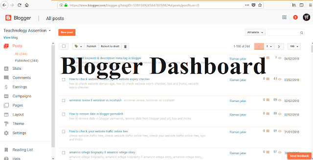 how to add keyword meta tag in blogger