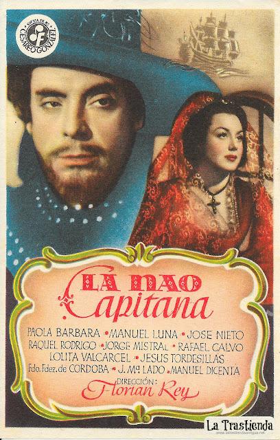 La Nao Capitana - Programa de Cine - Paola Barbara - Manuel Luna - Rafael Calvo