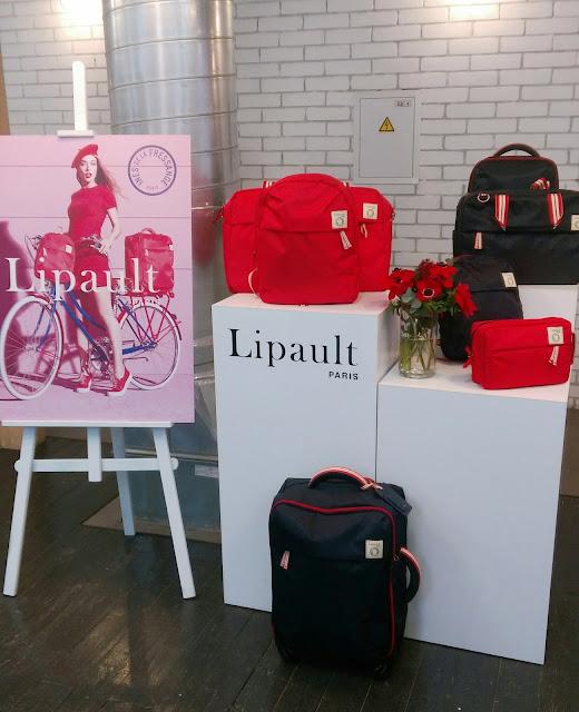 чемодан Lipault Ines de la Fressange2017