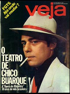 """Capa revista Veja - """"A Opera do Malandro"""" - agosto de 1978; década de 70; show anos 70; história anos 70; musica anos 70;"""