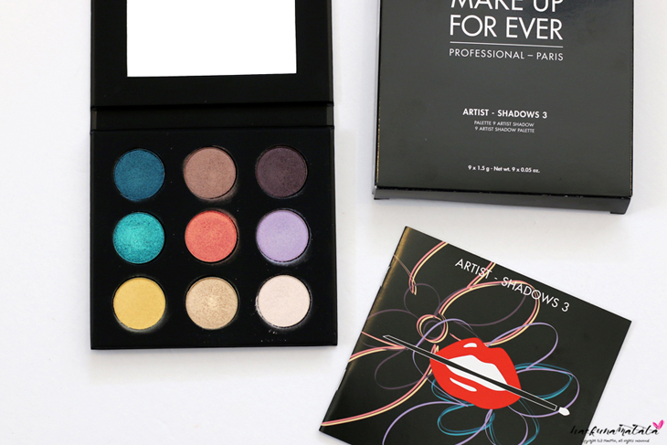 Make Up For Ever Floral Volume 3 Artist Palette Review & Swatches