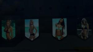 Pennants Pack With Bikini Hot Girls