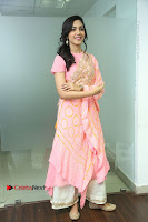 Actress Ritu Varma Pos in Beautiful Pink Anarkali Dress at at Keshava Movie Interview .COM 0175.JPG