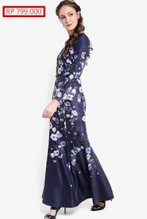 Model Baju Gamis Batik Sifon