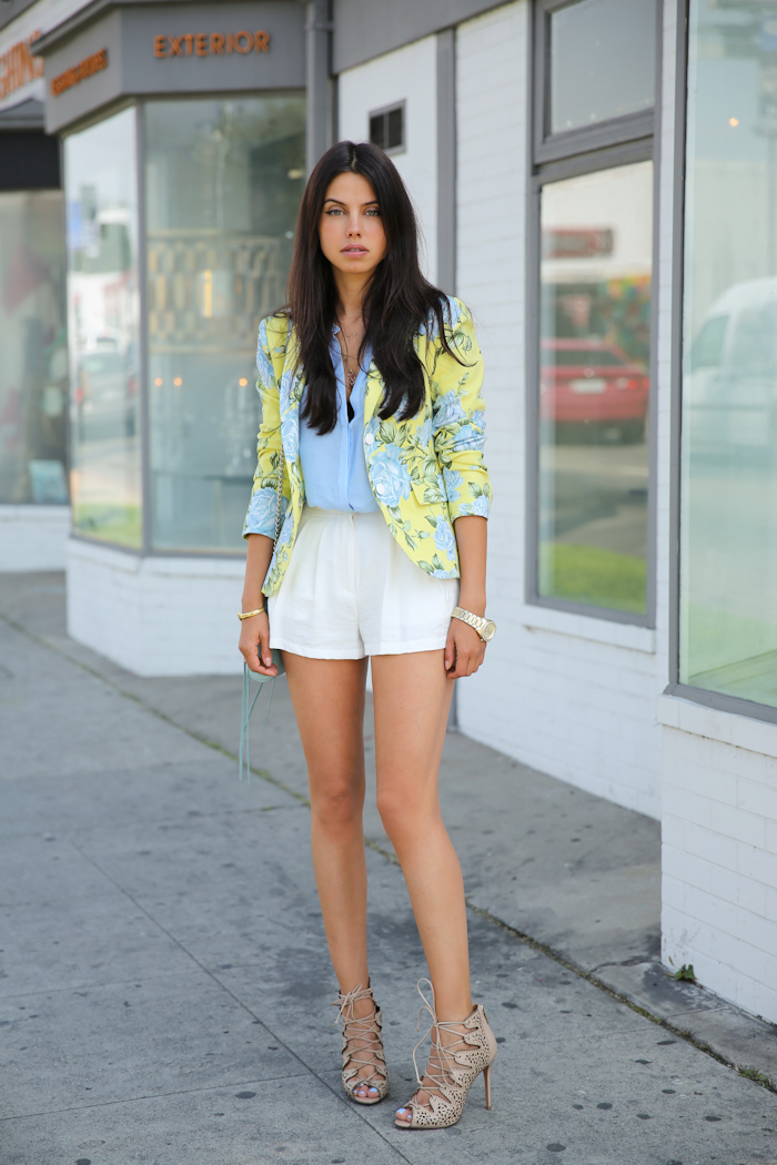 Vivaluxury Fashion Blog By Annabelle Fleur Short Shorts
