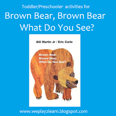 Brown bear brown bear what do you see white dog