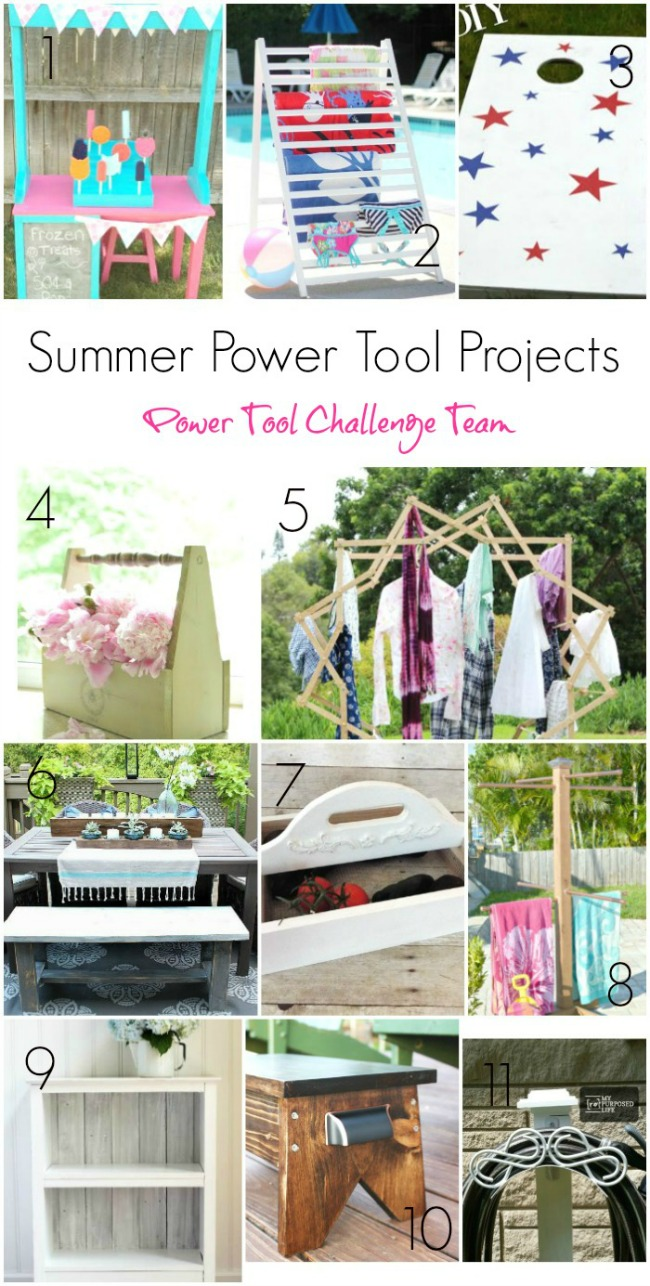 Power tool challenge, Frozen Treat Stand Tutorial, MyLove2Create